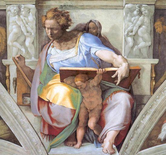 Michelangelo's Daniel