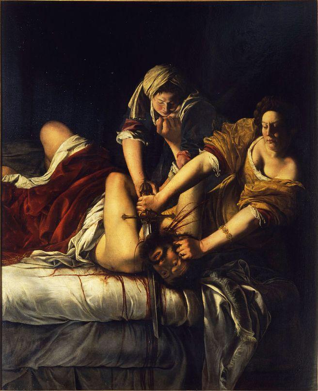 Gentileschi's Judith Beheading Holofernes
