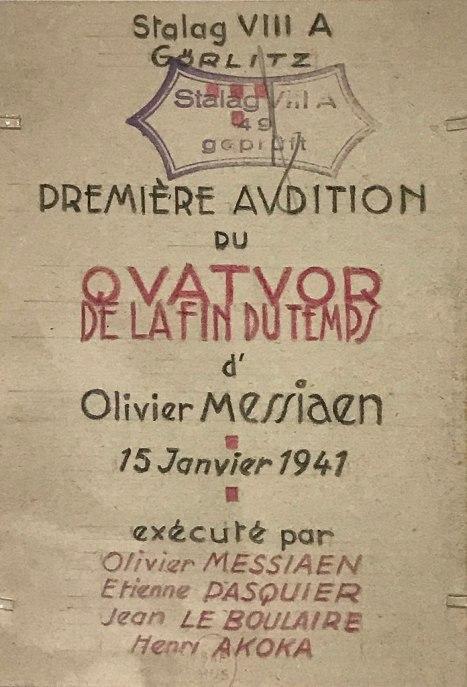 Quartet programme