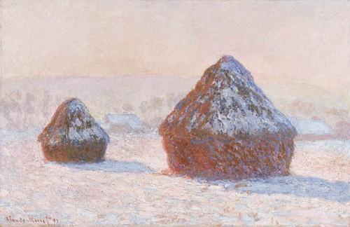 Haystacks Snow