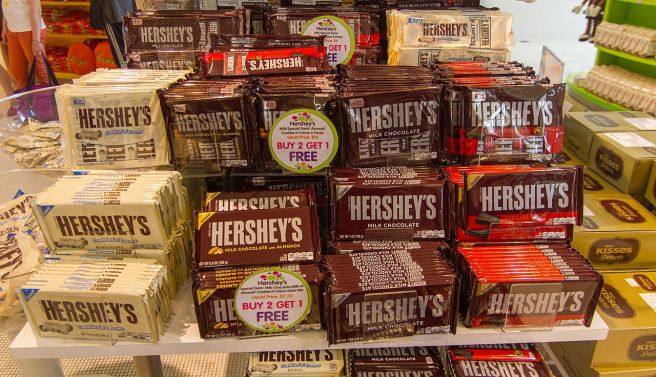 Hershey's chocolates