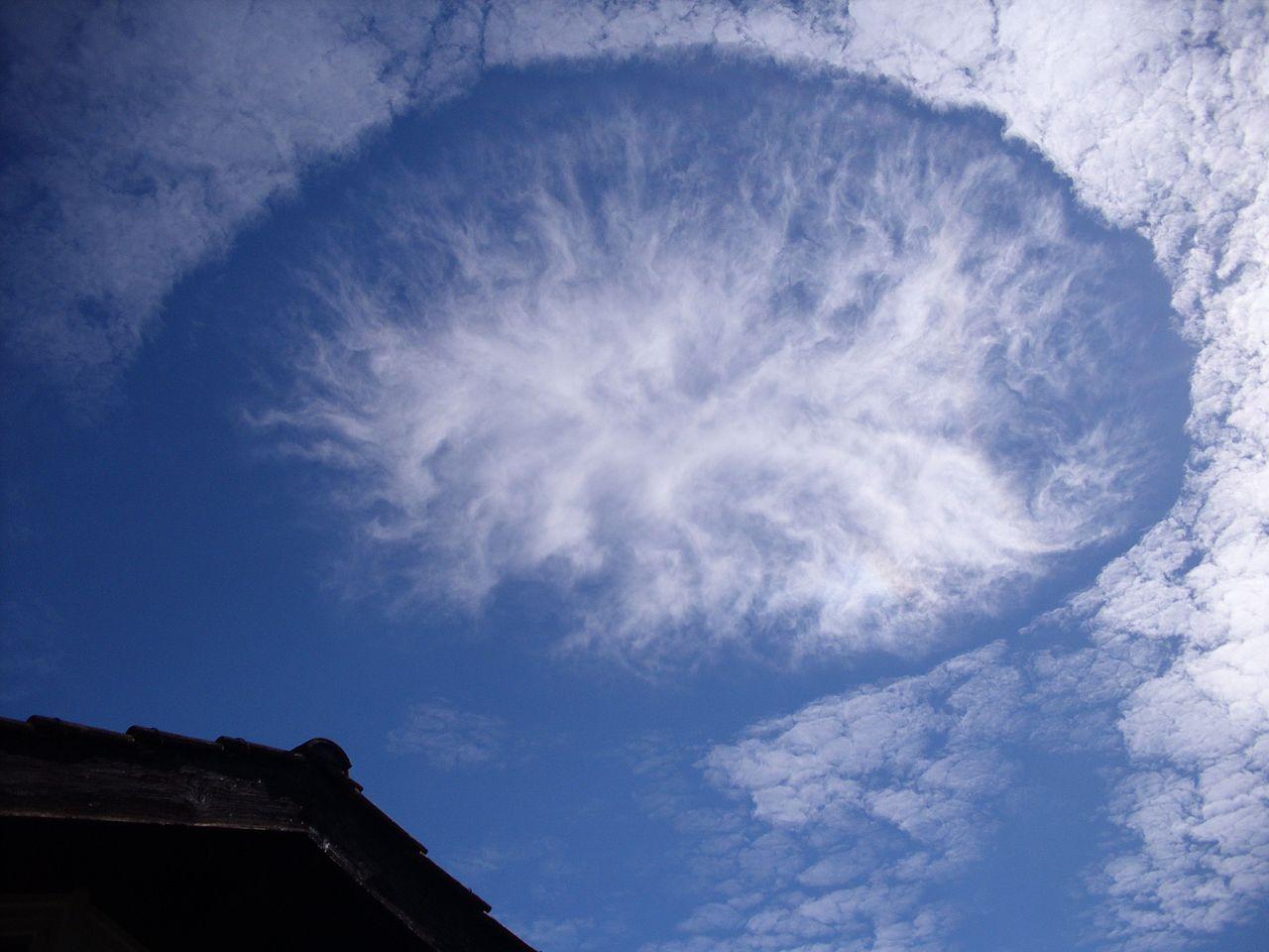 Cloud hole
