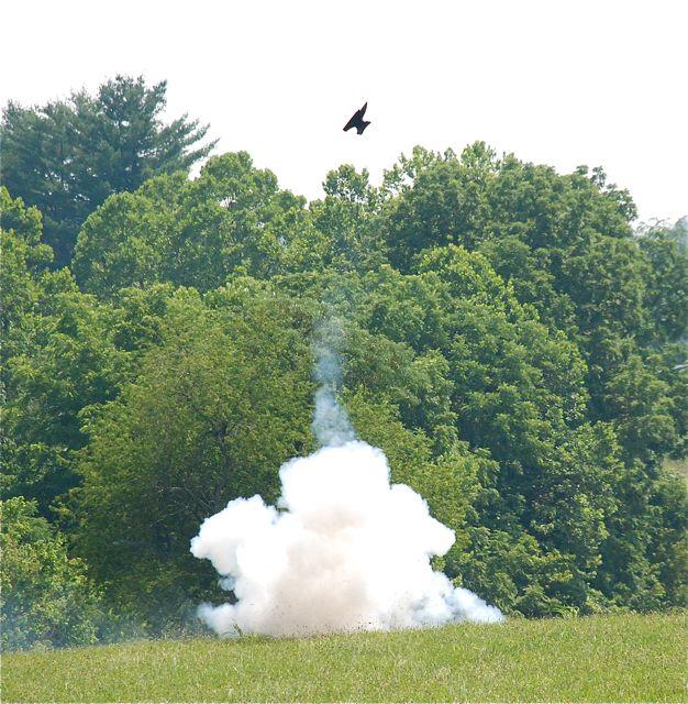 Anvil firing