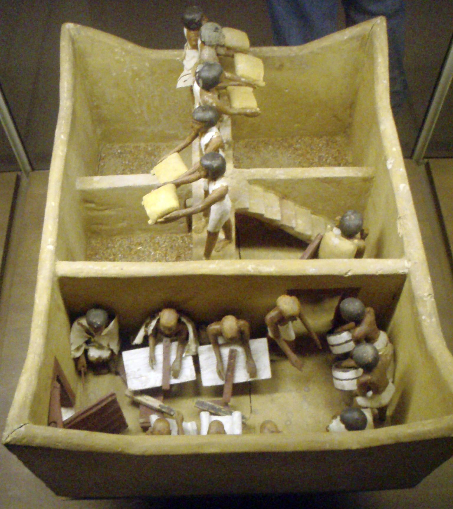 Funerary granary