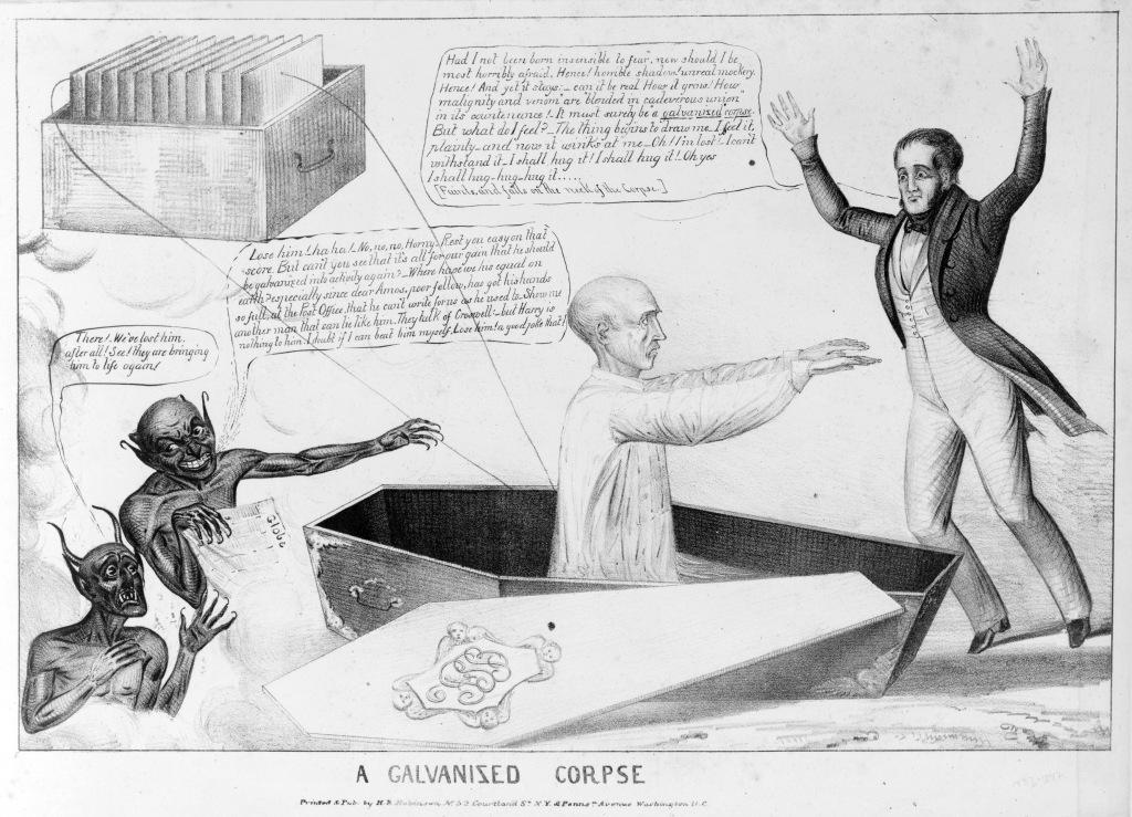 Galvanised corpse